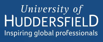 Huddersfield, University of Logo