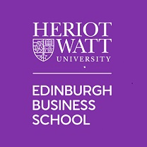 Edinburgh Business School. Doing more of what matters Logo