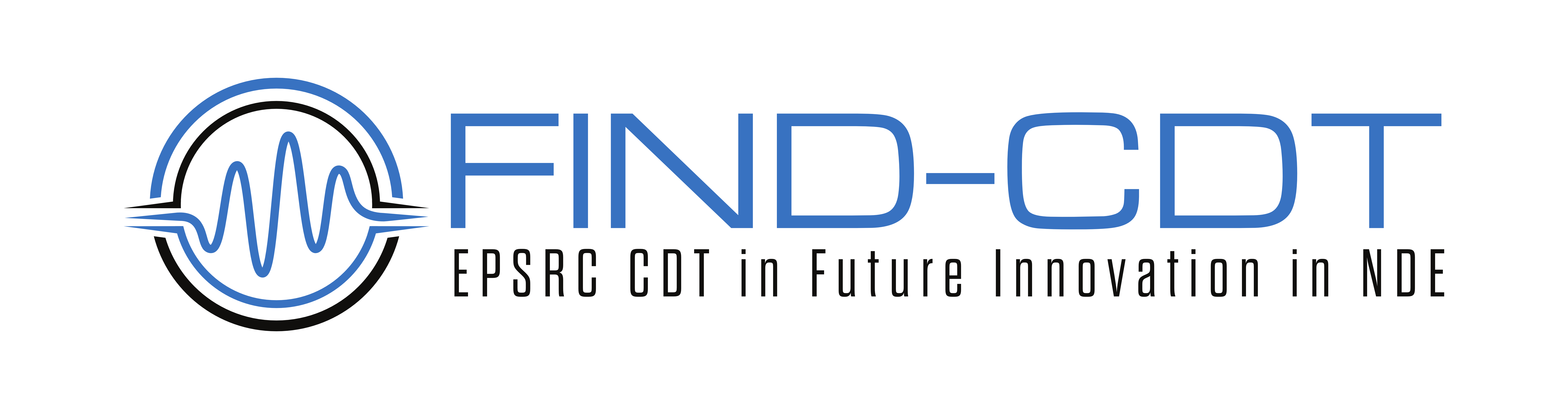 EngD and PhD Studentships: Centre for Doctoral Training in Future Innovation in Non-Destructive evaluation (FIND-CDT) Logo